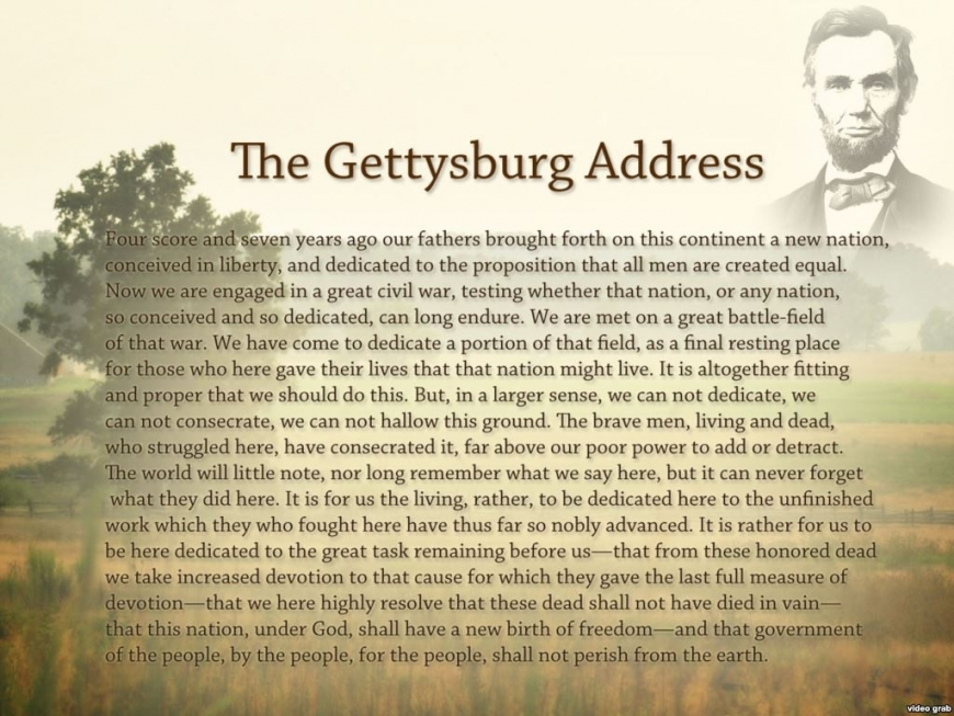 Gettysburg Address anniversary: Thousands gather to commemorate iconic speech