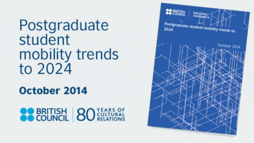 New report forecasts postgraduate mobility trends through 2024