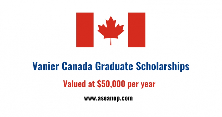 Vanier Canada graduate funding opportunities for Canadian and Foreign Students